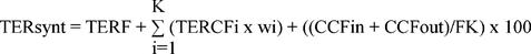 formula del TER sintetico
