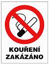 """Grafická značka """"Kouření zakázáno"""""""
