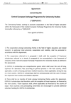 "Agreement concerning the Central European Exchange Programme for University Studies (""CEEPUS III"")"