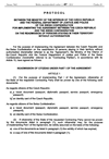 PROTOCOL BETWEEN THE MINISTRY OF THE INTERIOR OF THE CZECH REPUBLIC AND THE FEDERAL DEPARTMENT OF JUSTICE AND POLICE OF THE SWISS CONFEDERATION FOR IMPLEMENTING THE AGREEMENT BETWEEN THE CZECH REPUBLIC AND THE SWISS CONFEDERATION ON THE READMISSION OF PERSONS STAYING IN THEIR TERRITORY WITHOUT AUTHORISATION