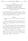 PROTOCOL BETWEEN THE CZECH REPUBLIC AND THE REPUBLIC OF ALBANIA ON THE AMENDMENT TO THE AGREEMENT BETWEEN THE CZECH REPUBLIC AND THE REPUBLIC OF ALBANIA for the promotion and reciprocal protection of investments, signed on 27 th June, 1994 at Prague